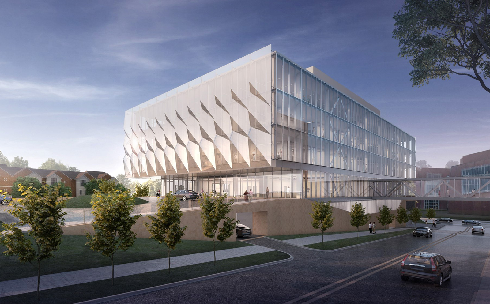 Rendering of the new UC Gardner Neuroscience Institute