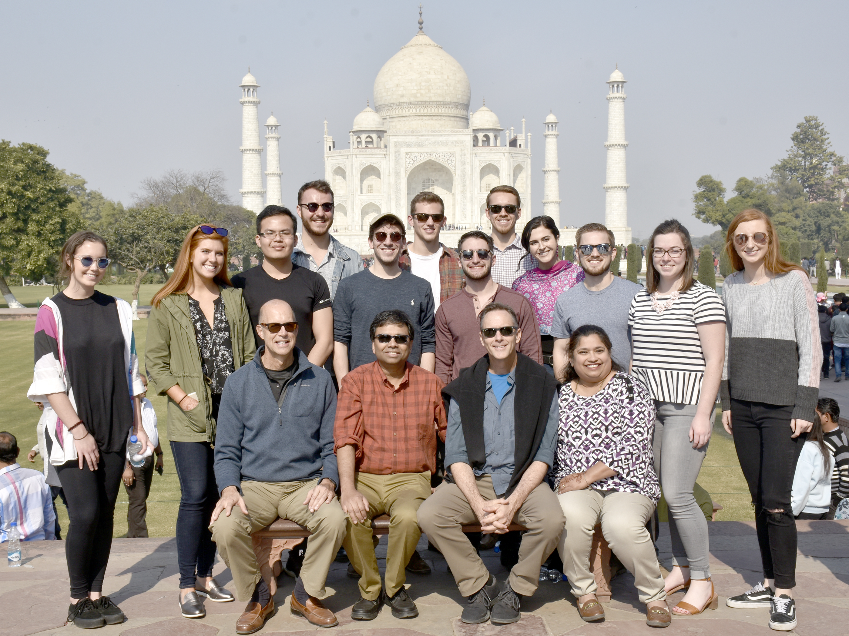 Lindner students in India